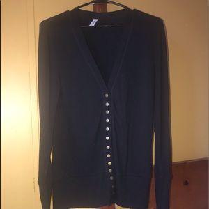 Light Weight Button Up Sweater
